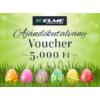 Húsvéti ajándékutalvány - 5000 Ft