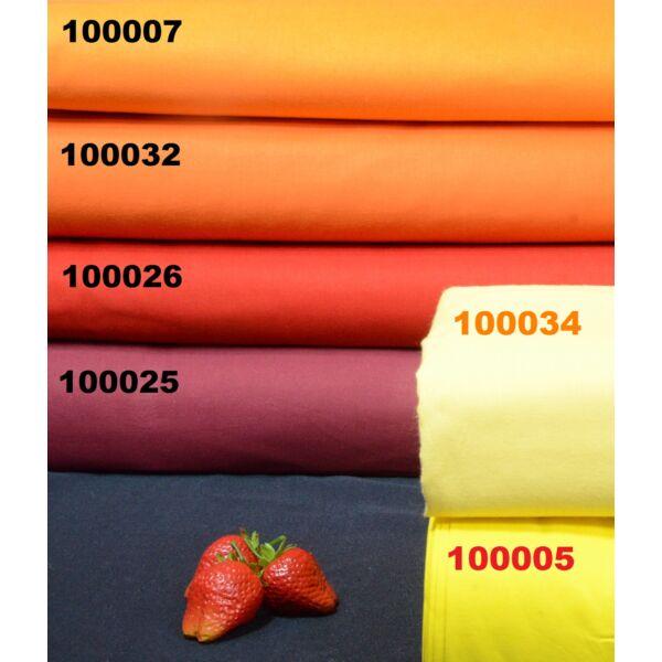 egyszínű pamutvászon