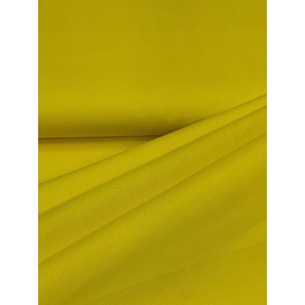 Egyszínű pamutvászon /citrom sárga