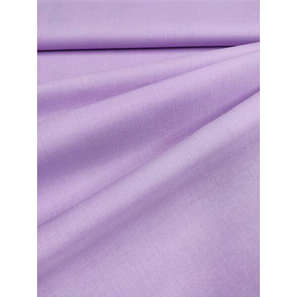 egyszínű pamutvászon /világos lila