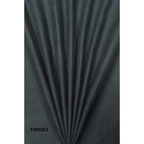 egyszínű pamutvászon /fekete