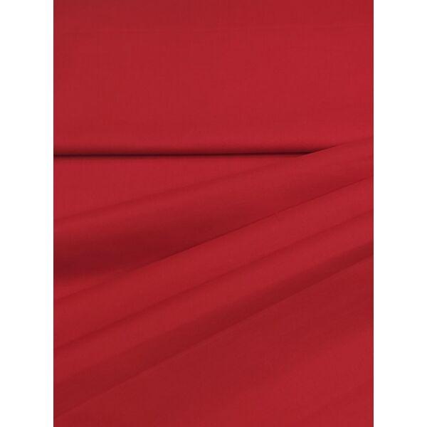 egyszínű pamutvászon /piros