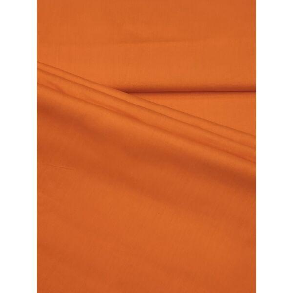 egyszínű pamutvászon /sötét narancssárga