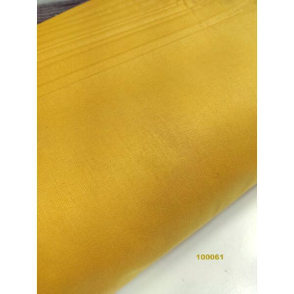 egyszínű pamutvászon /mustársárga