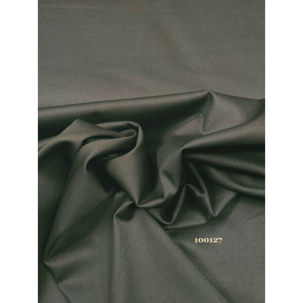 elasztikus selyemfényű vászon /Q7 /szürkés khaki