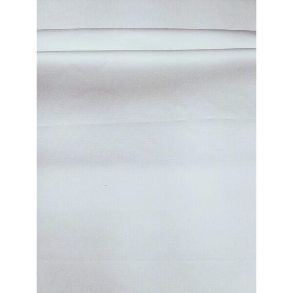 egyszínű elasztikus vászon /Lídia / fehér