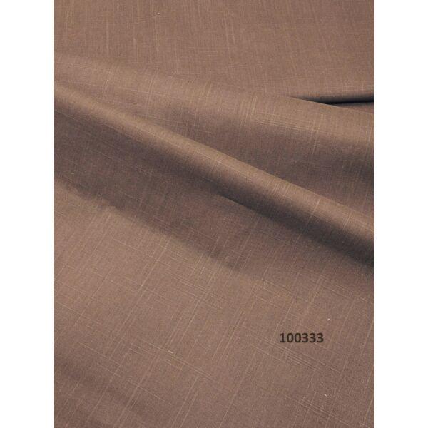 pigmentfestett pamut vászon/ sötét barna