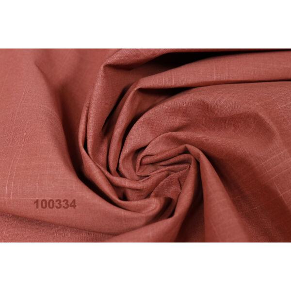 egyszínű pamutvászon /pigmentfestett /rozsdabarna