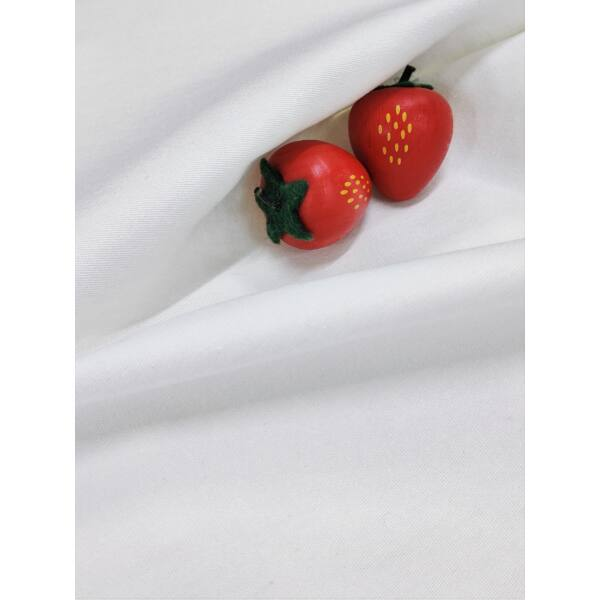 elasztikus egyszínű vászon /szuper stretch/ fehér
