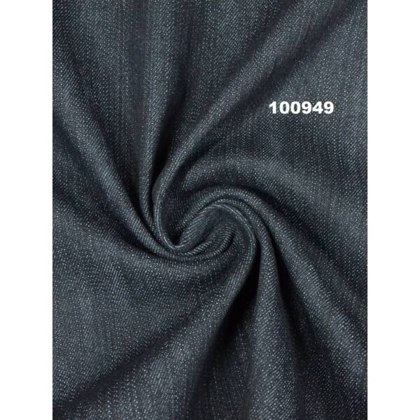 elasztikus farmer /10 OZ /fekete-kék