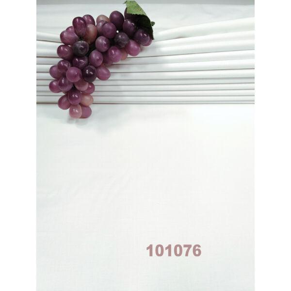 egyszínű pamutvászon /vastagabb 175g/m2 /fehér