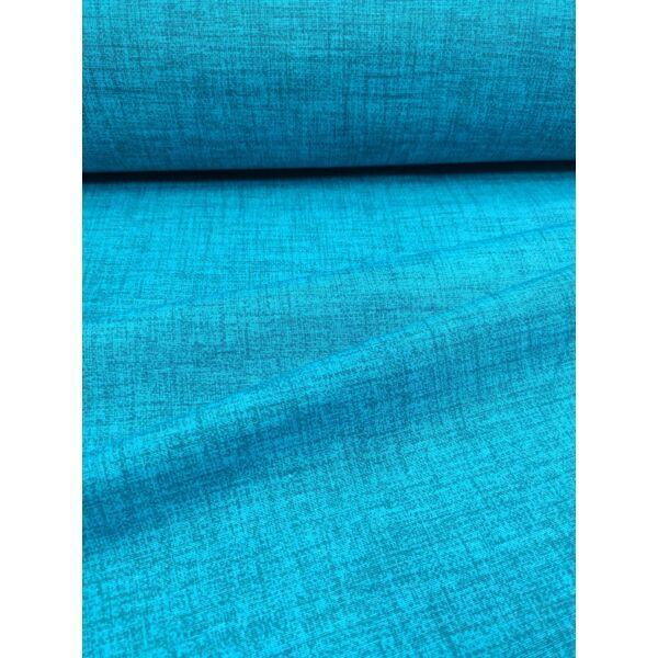 egyszínű LONETA vastag vászon /melange türkizkék