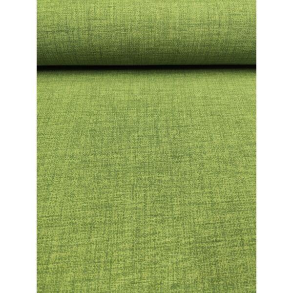 egyszínű LONETA vastag vászon /melange kiwizöld