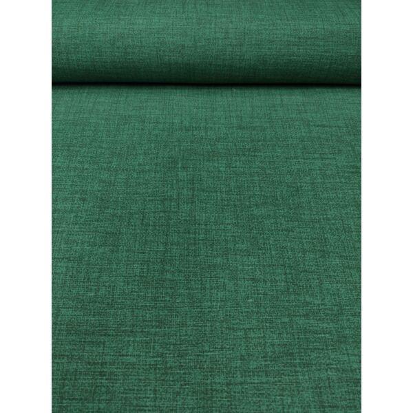 egyszínű LONETA vastag vászon /melange sötétzöld