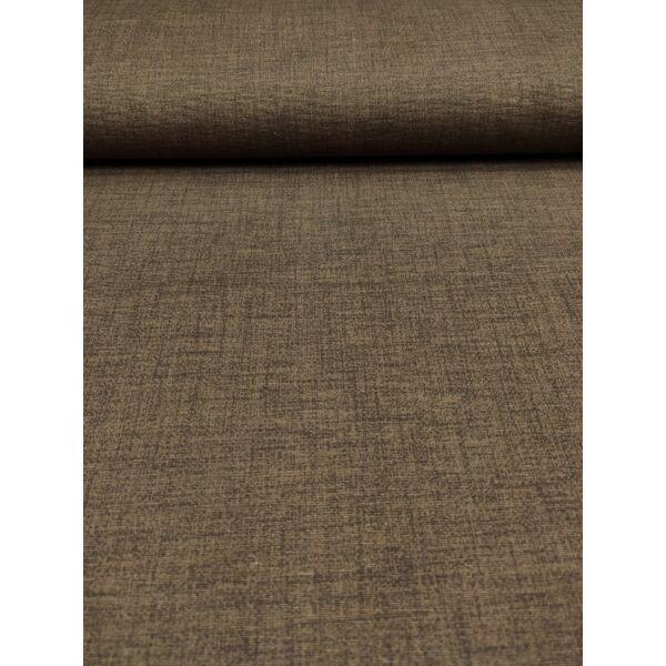 egyszínű LONETA vastag vászon /melange sötétbarna