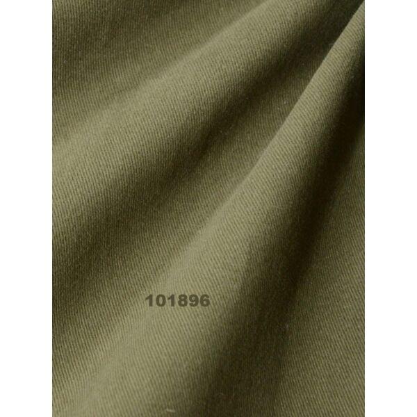 egyszínű vastag vászon /csiszolt twill /khaki