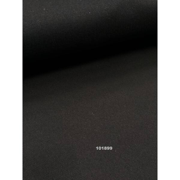 egyszínű elasztikus vastag vászon /twill /fekete