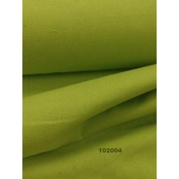 egyszínű vastag vászon /canvas /közép zöld