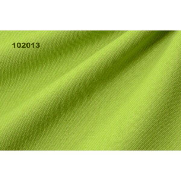 egyszínű vastag vászon /canvas /kiwi