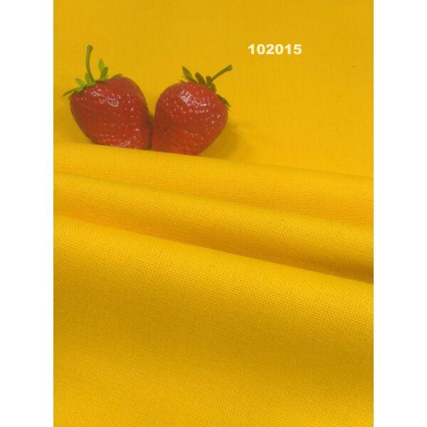 egyszínű vastag vászon /canvas /napsárga