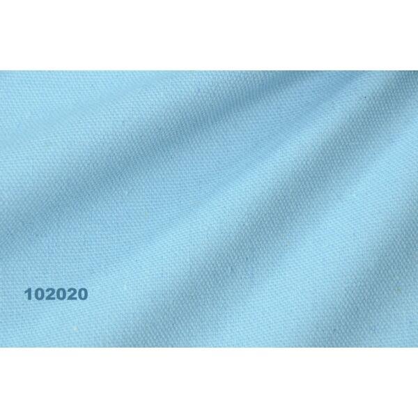 egyszínű vastag vászon /canvas /világos kék