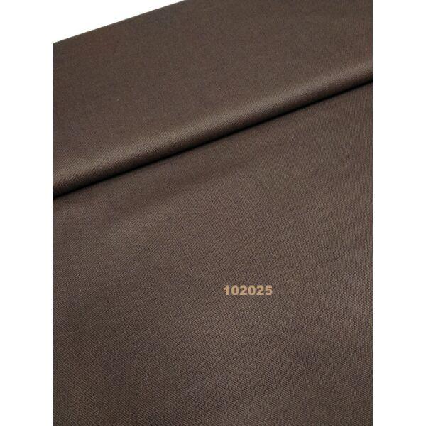 egyszínű vastag vászon /canvas /sötét barna