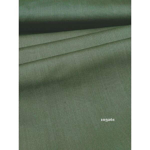elasztikus pamut vászon /farmer hatású /oliv zöld