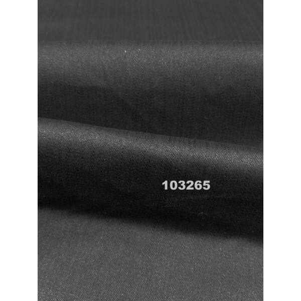 elasztikus pamutvászon /farmer hatású cotton slub str /fekete