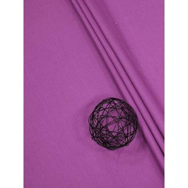elasztikus pamutvászon /farmer hatású / lila(FÉLMÉTER)