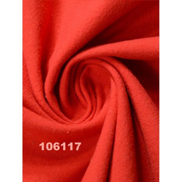 egyszínű pamutvászon Hawaii /piros