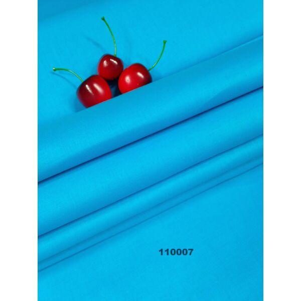 Egyszínű pamutvászon /türkiz kék