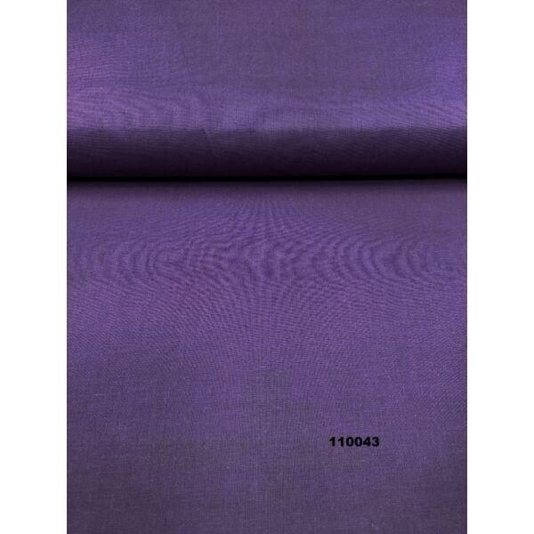 egyszínű pamutvászon /sötét lila