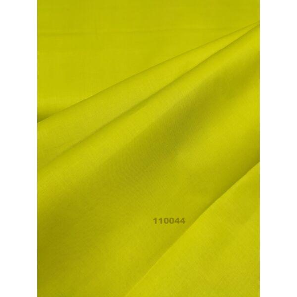 egyszínű pamutvászon /citrom-zöld