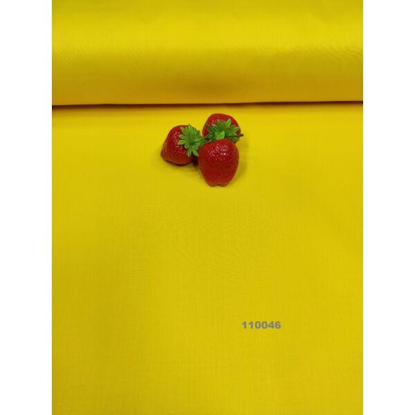 egyszínű pamutvászon /citromsárga