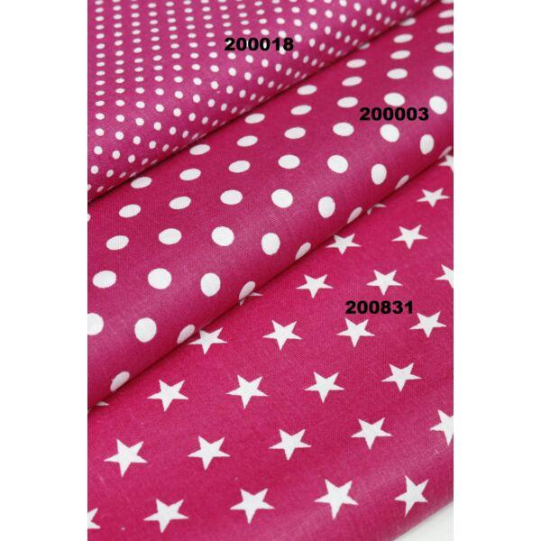 mintás vászon /pink