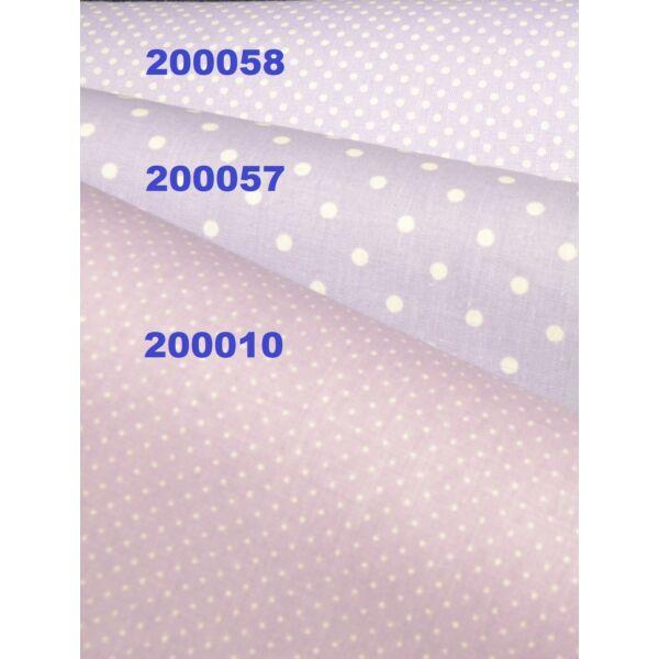 mintás vászon /lila