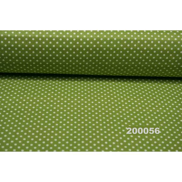 Vászon zöld-fehér 2mm