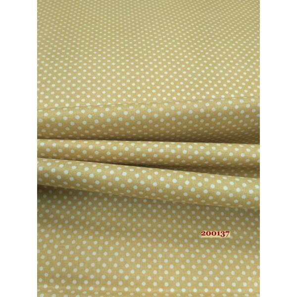 világos drapp pöttyös vászon /2mm