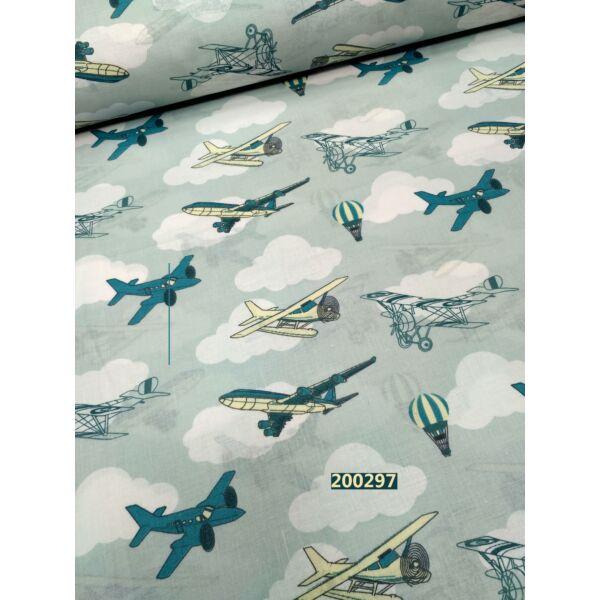 mintás vászon /repcsik (utasszállító 10x3,5 cm)(FÉLMÉTER)