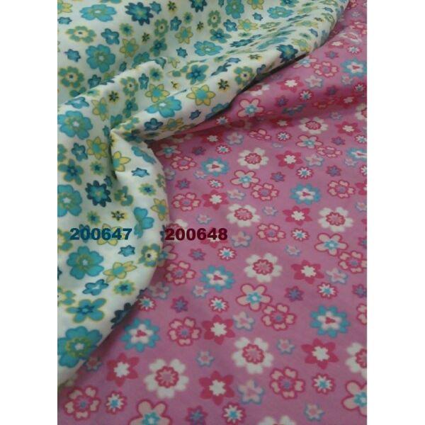 elasztikus mintás vászon /virágos