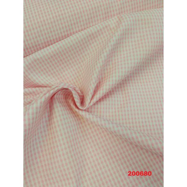 Vászon rózsaszín kockás