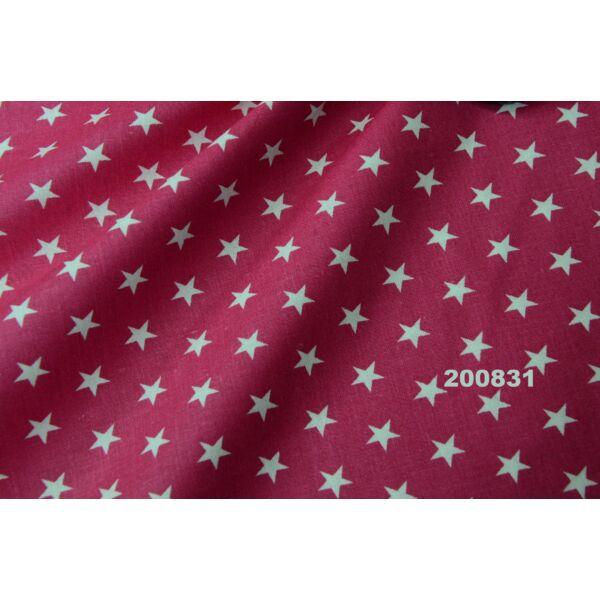 Vászon pink-fehér csillagos