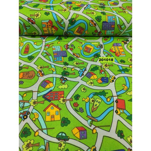 mintás vászon /játékváros