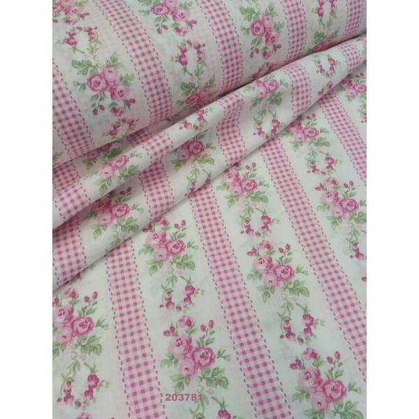 Vászon patchwork mintás