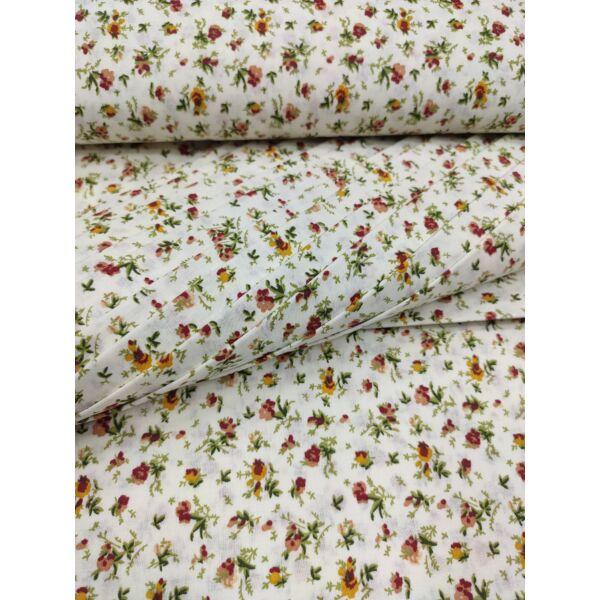 mintás vászon /apró virágos