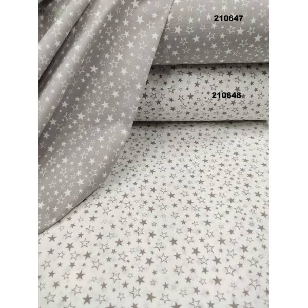 mintás pamutvászon /fehér apró csillagok (nagy fehér csillag 1.2cm × 1.2cm)