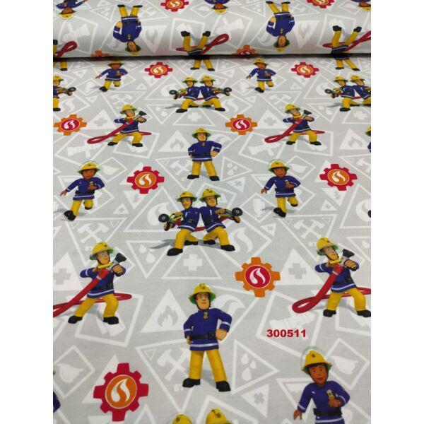 elasztikus pamut jersey /Sam, a tűzoltó