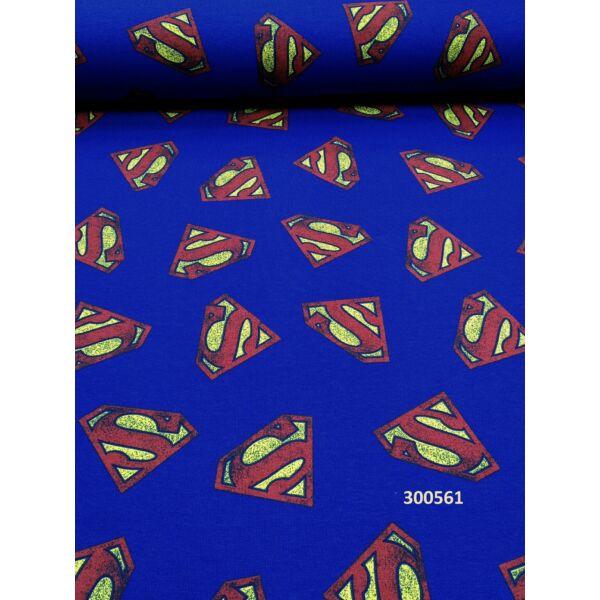 Superman mintás elasztikus futter