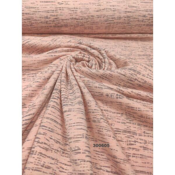 elasztikus egyszínű futter/ melange/ rózsaszín