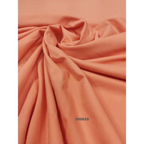 elasztikus egyszínű pamut jersey /korall